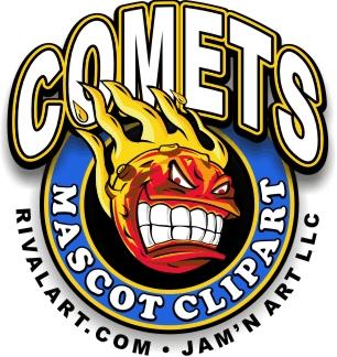 Comet clipart mascot Mascot Comet Clipart on com