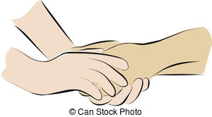 Comfort clipart Palliative hands 178 Comfort Stock