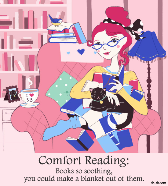 Comfort clipart blanket Books Blanket a A Reading: