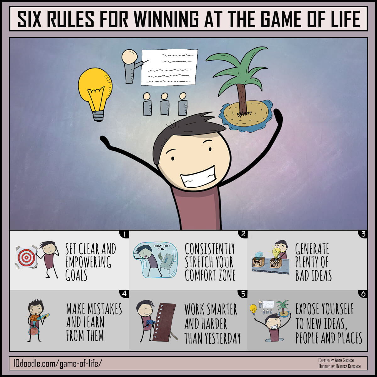 Comfort clipart ground rules Life Game the Six to