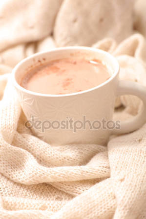 Comfort clipart hot cocoa Stock chocolate Stock — Hot