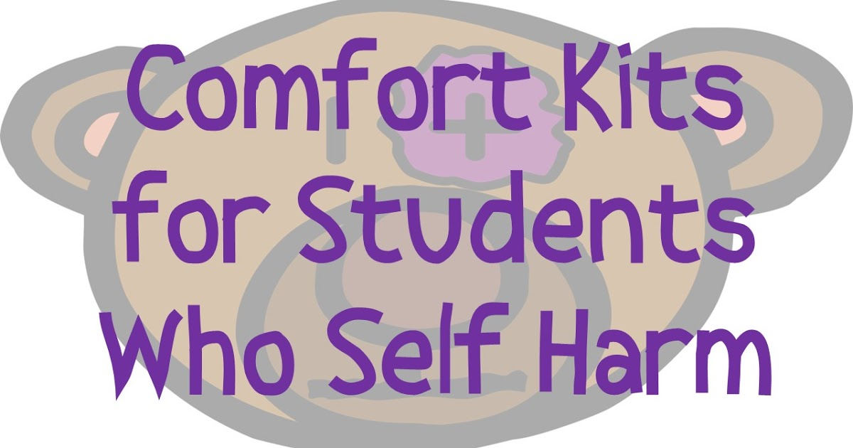 Comfort clipart intervention For Harm Kits For