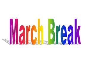 Comfort clipart march break March 2016 Break Trust 11