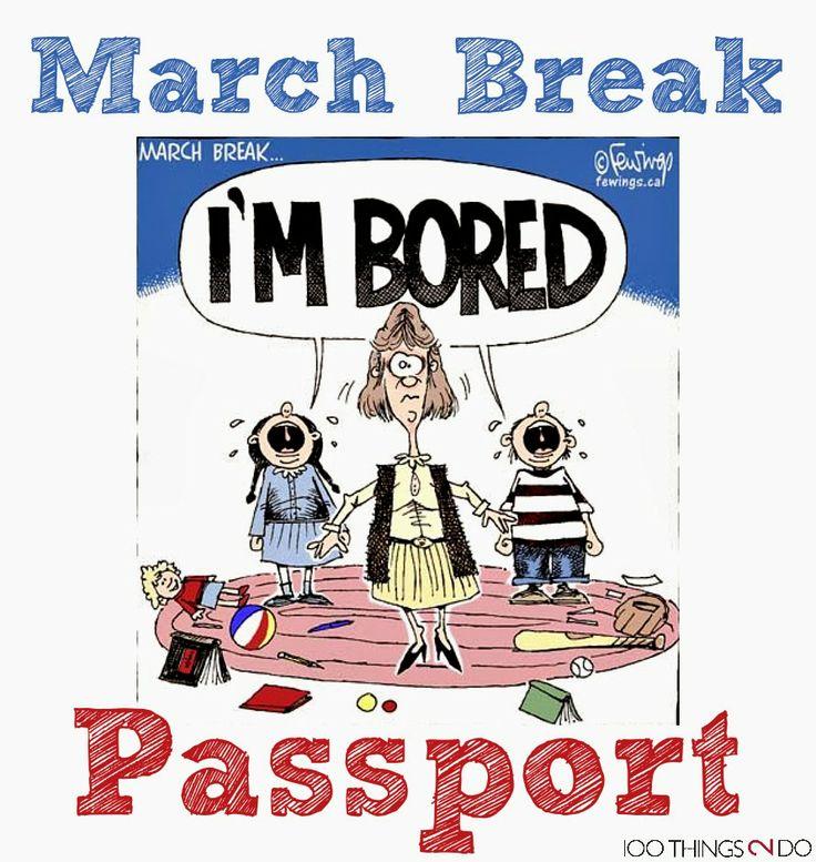Comfort clipart march break Free break over 261 Passport
