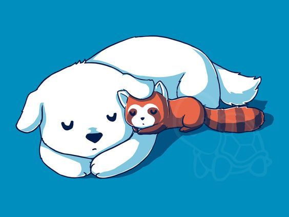 Comfort clipart naptime Snuggling shirts has TeeTurtle