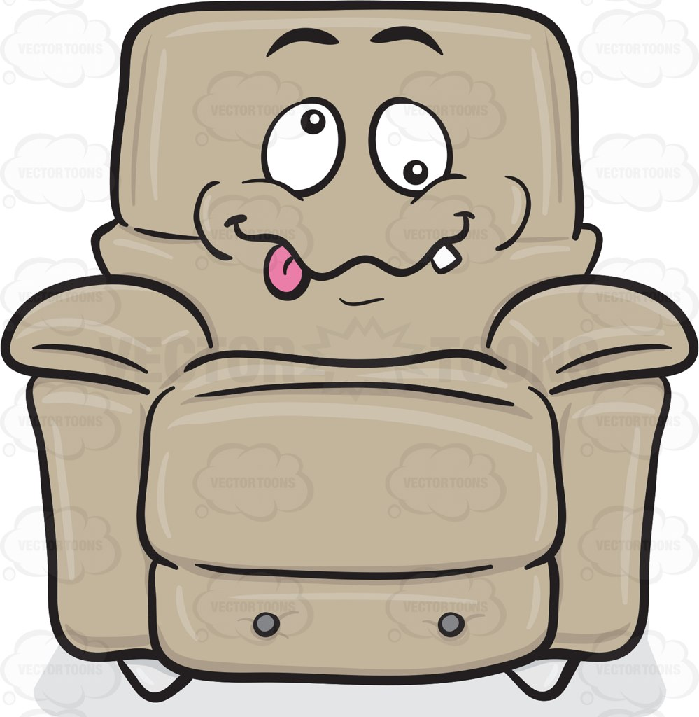 Comfort clipart recliner Crazy Clipart Stuffed Cartoon Upholstery