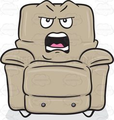 Comfort clipart recliner Clipart A Provoked Blowing Kiss