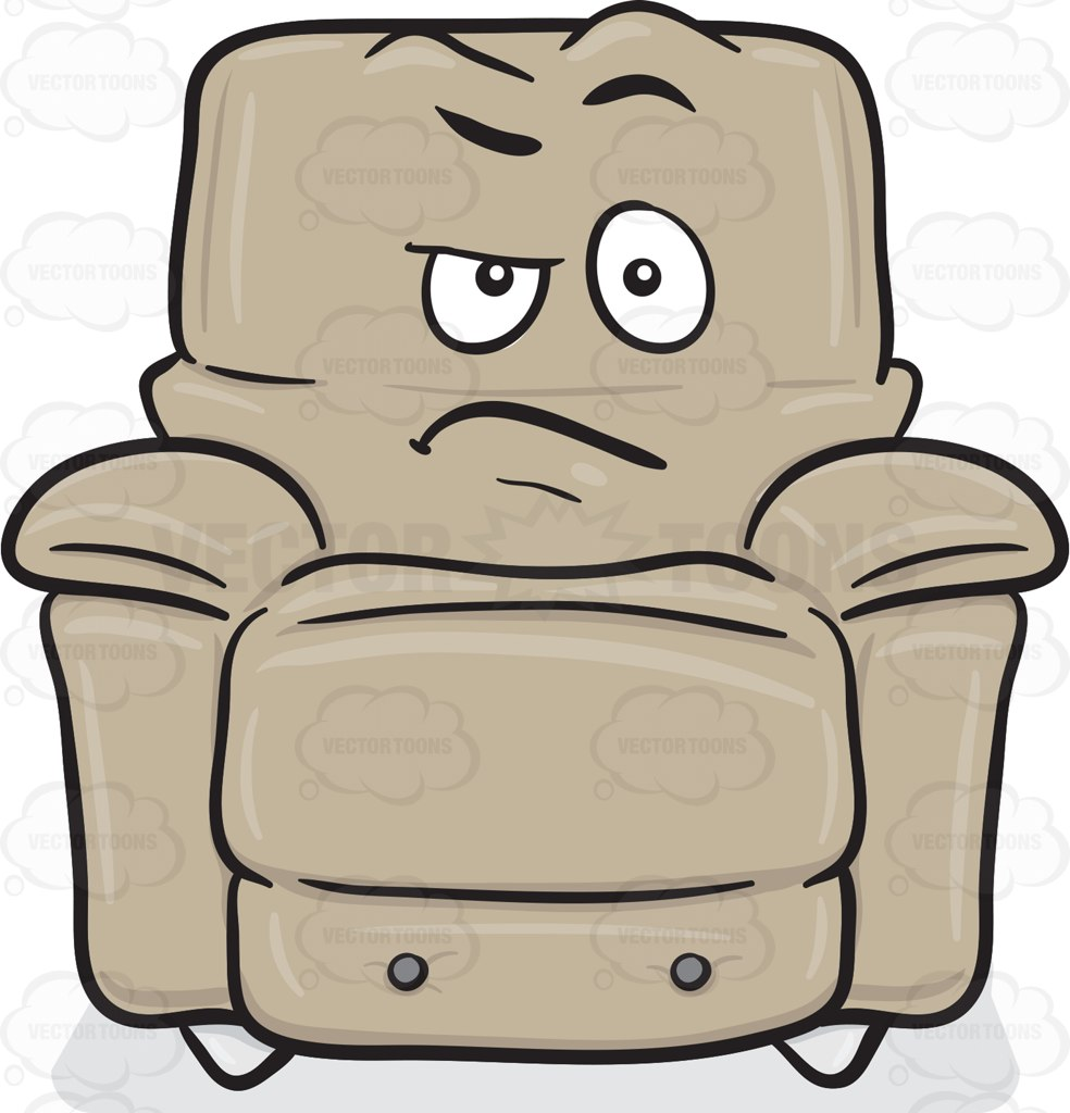 Comfort clipart recliner  On Chair With Stuffed