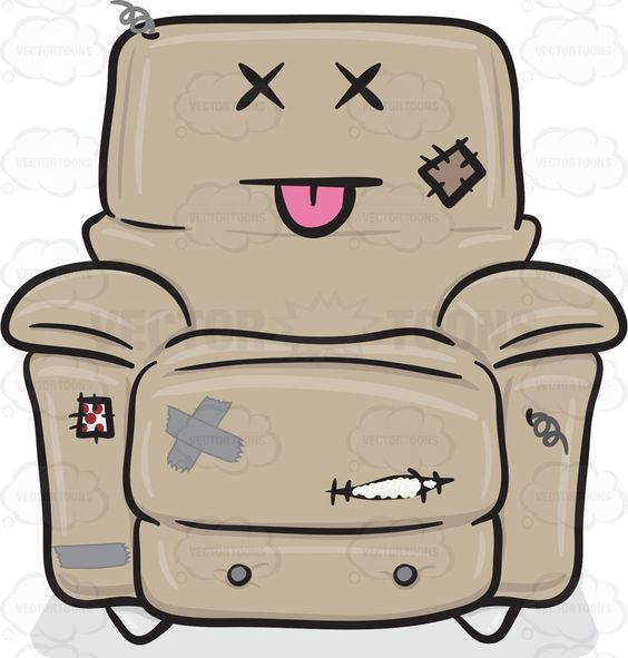 Comfort clipart recliner Pinterest chair grey of The