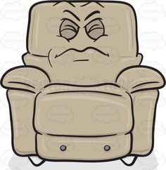Comfort clipart recliner Clipart A On Blowing Kiss