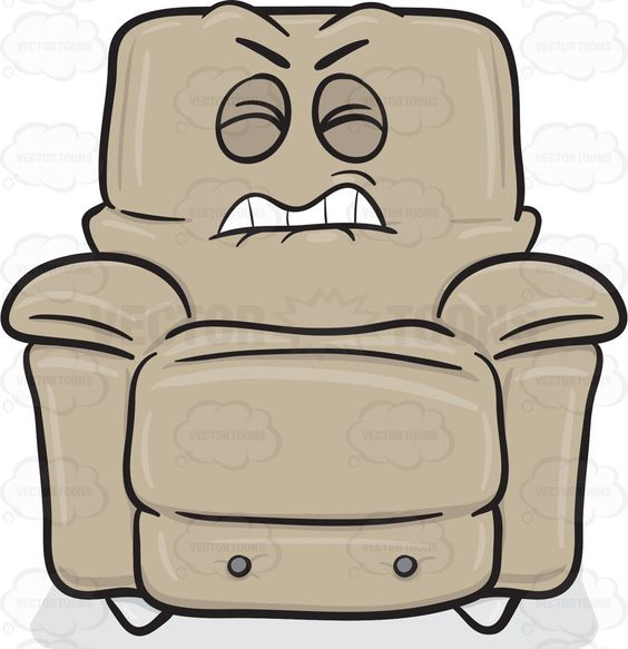 Comfort clipart recliner #annoyed and Disgruntled Products Recliners