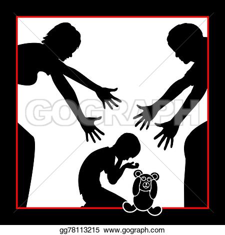 Comfort clipart solace Anxious Drawing Clipart parents her