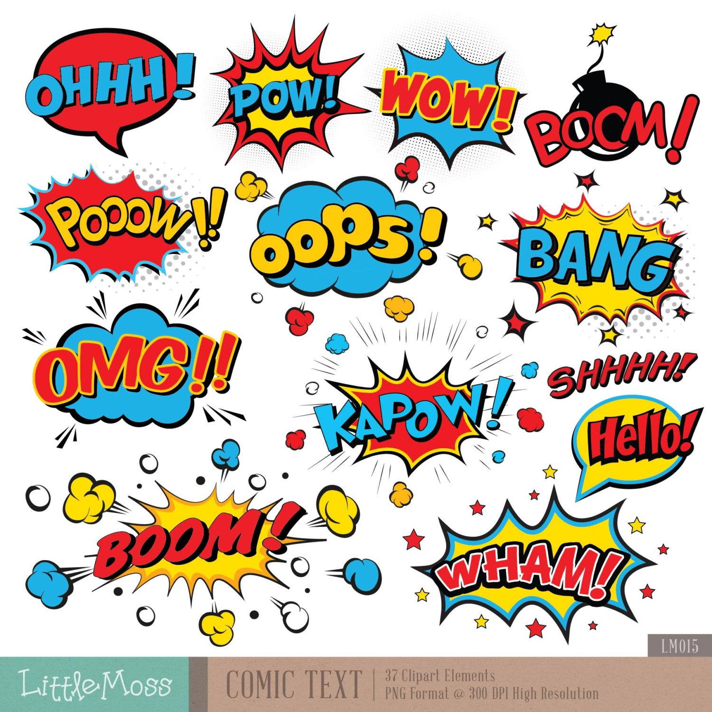Comics clipart superhero Clipart Comic this Clipart Text