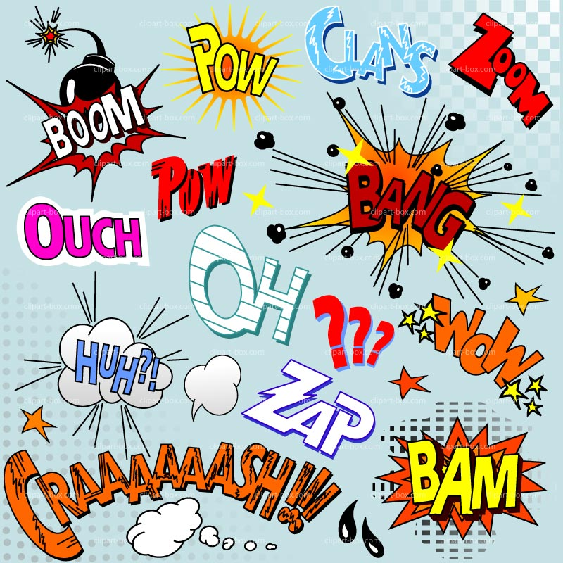 Word clipart comic book Collection Clipart clip clipart Comic