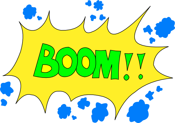 Boom clipart cartoon This Boom! com clip Art