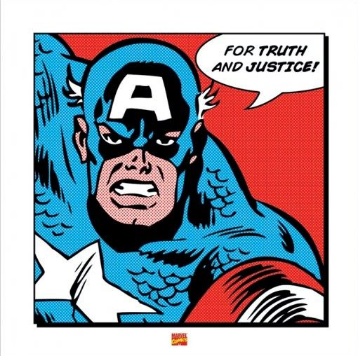 Comic clipart capt Comics America Art Poster collections