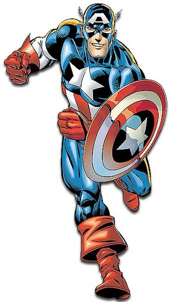 Comic clipart capt America Sidekicks  Villains Captain