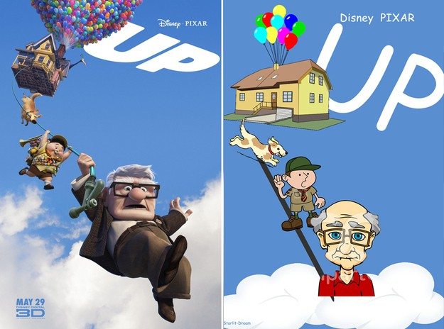 Comic clipart disney Up Disneys Sans  Get