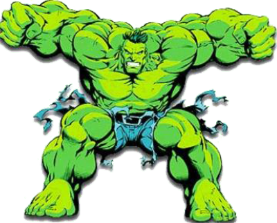 Comic clipart hulk The Wiki psd15973 png Hearts
