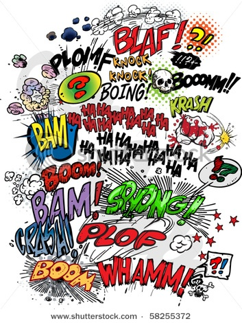 Comic clipart language art Best Needed to on figurative
