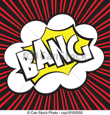 Comic clipart logo Vector Bang Vector comic Clipart