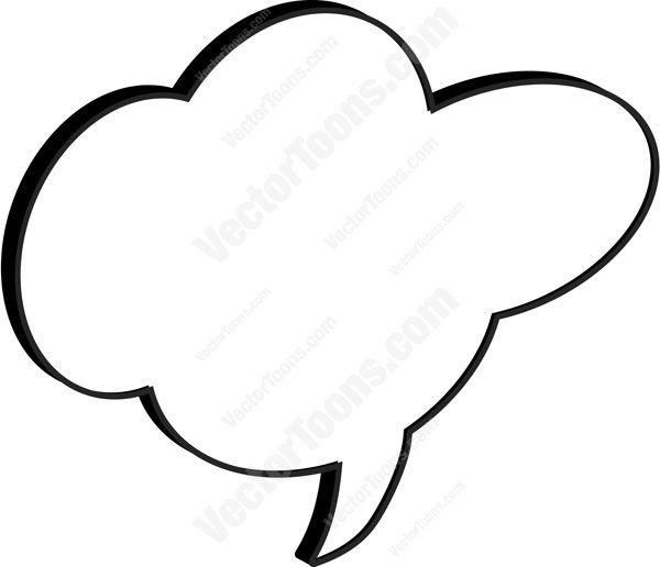 Comic clipart talk Cloud Cartoon Talk Cartoon Middle