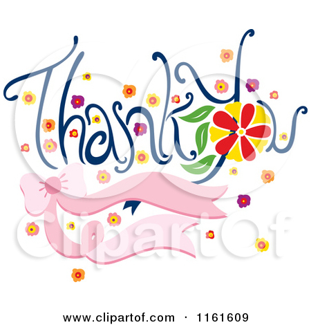 Comic clipart thank you C6jfcx You 20You Clipart 20Flowers