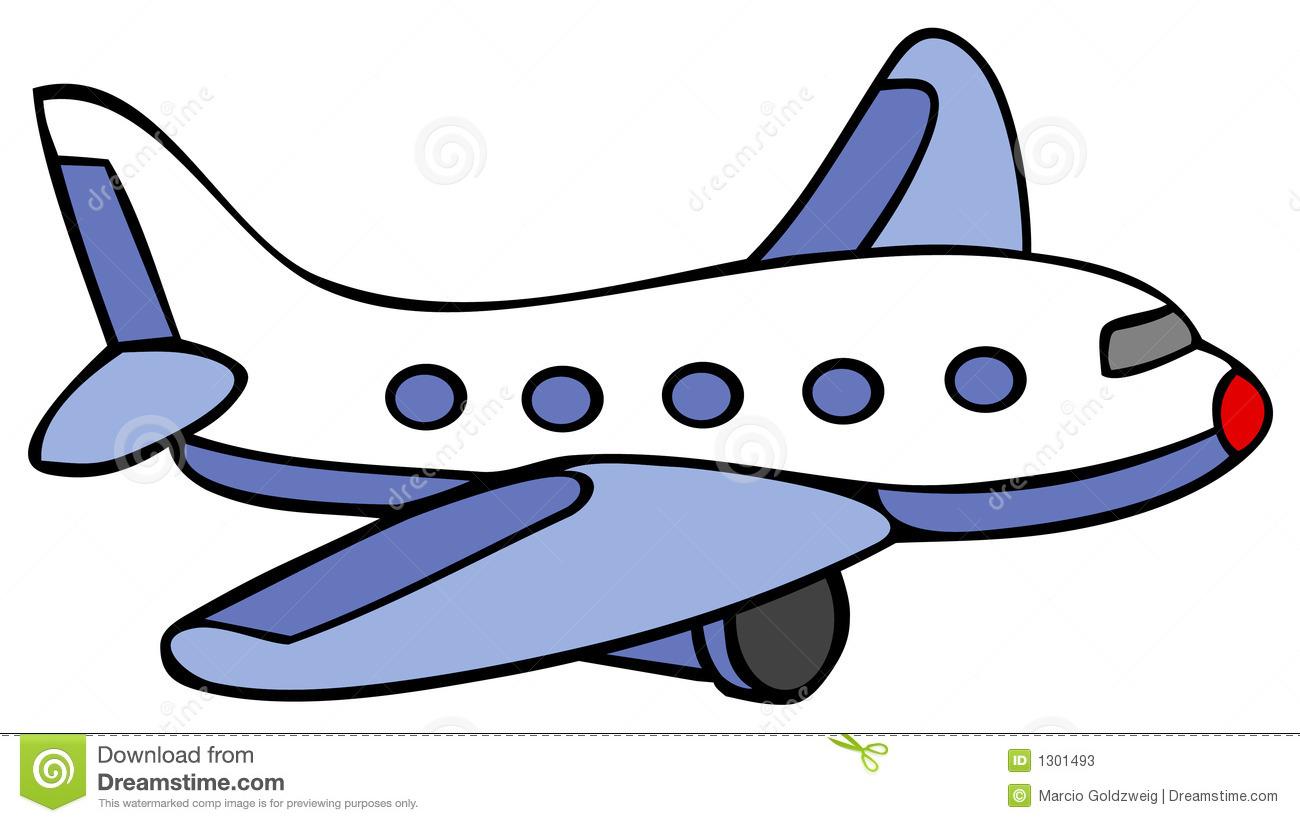 Drawn airplane cartoon #9