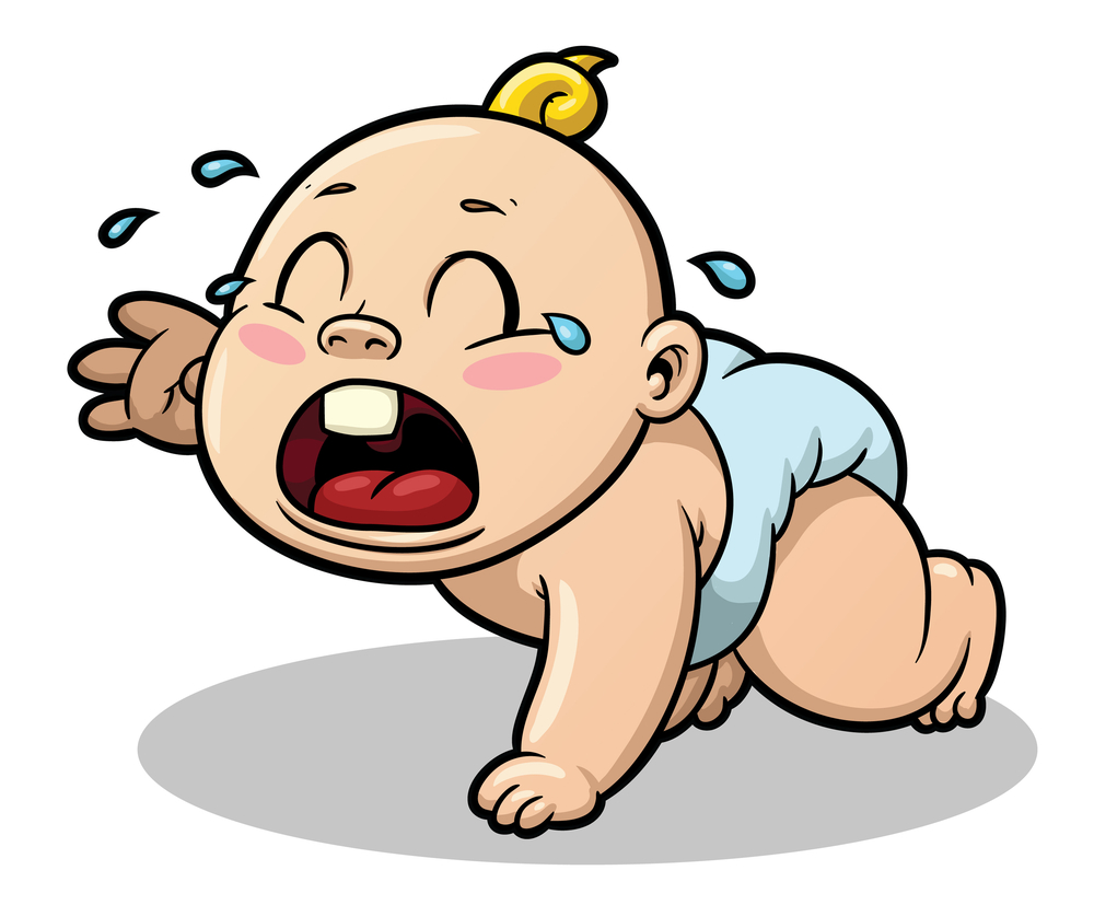 Screaming clipart emoticon Clipart baby Download Cartoon Comic