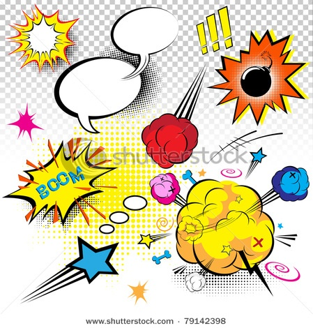 Comics clipart border On images 865 Expressions best