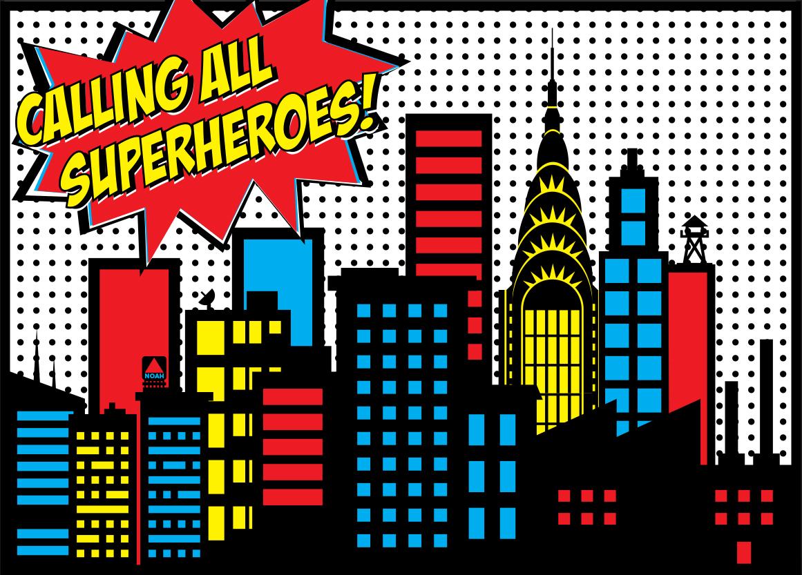 Building clipart comic book Package Superhero and Birthdays Superhero
