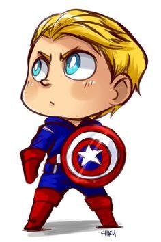 America clipart cartoon Captain Heroes America Set Avengers