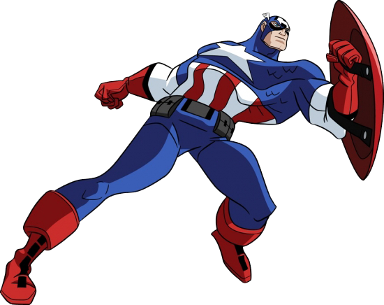 Comic clipart capt Capt Throw Clipart Captain America