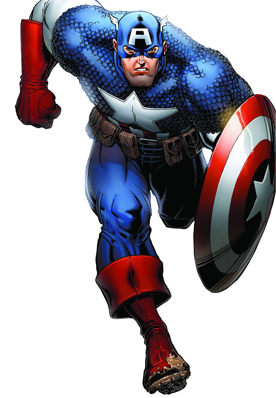 Comic clipart hero word America PNG Captain Captain download