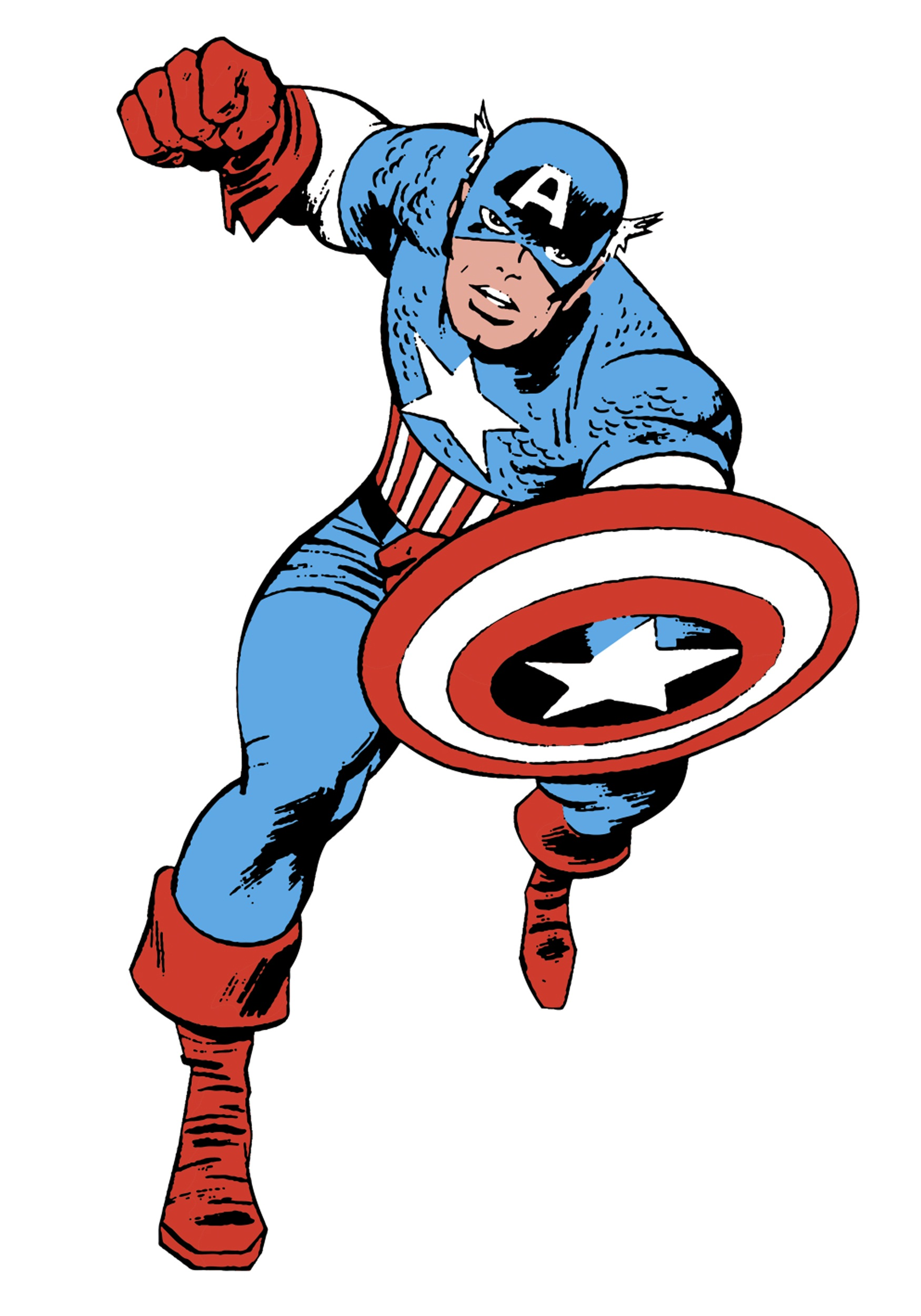 Comic clipart capt The comic Superheroes 2 In