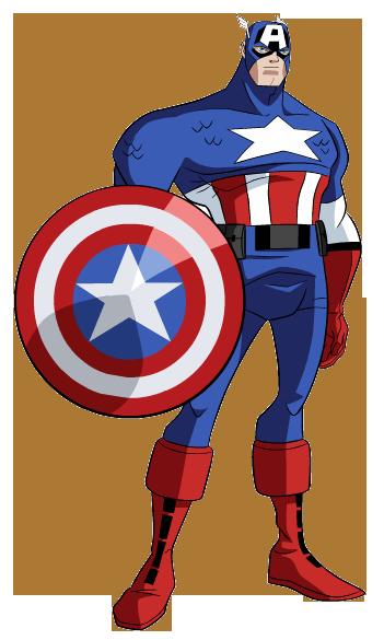 America clipart cartoon Captain America Capt Clipart