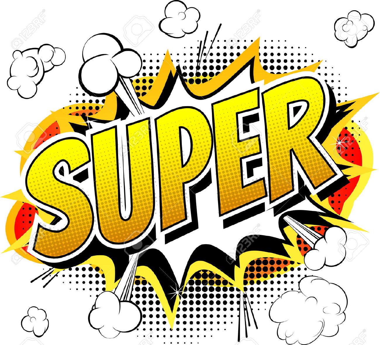 Comics clipart hero word Super Zone Cliparts Super Cliparts