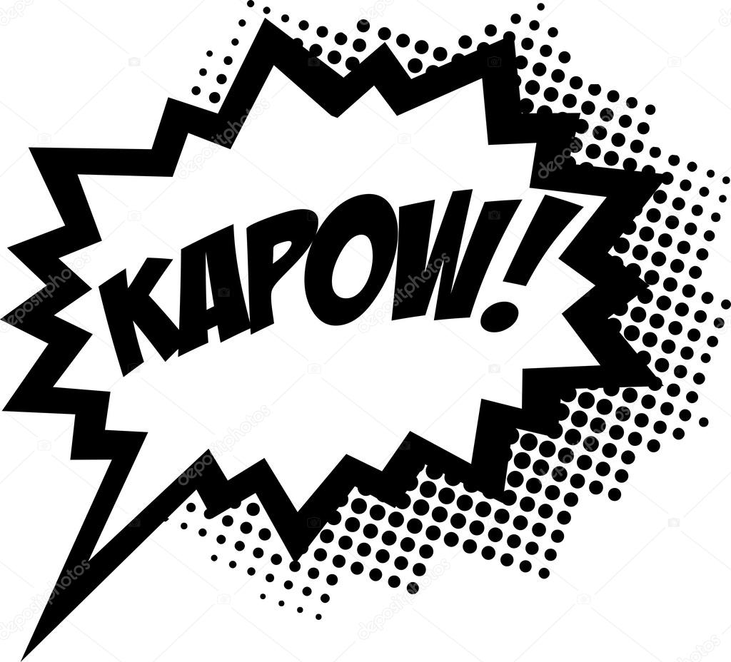 Comics clipart kapow Image © Bubble Stock —