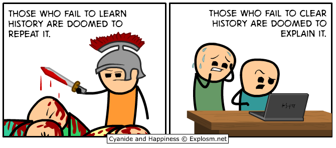 Comics clipart lessons learned Cyanide  (Explosm net) &
