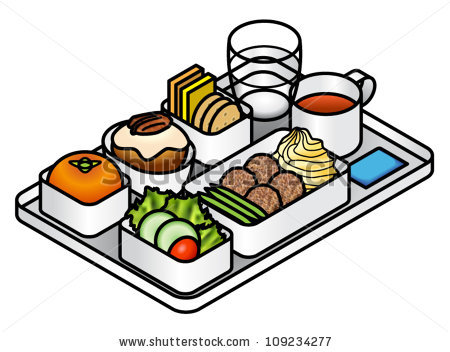Breakfast clipart food dish Food Clipart Tray Hospital Cafeteria