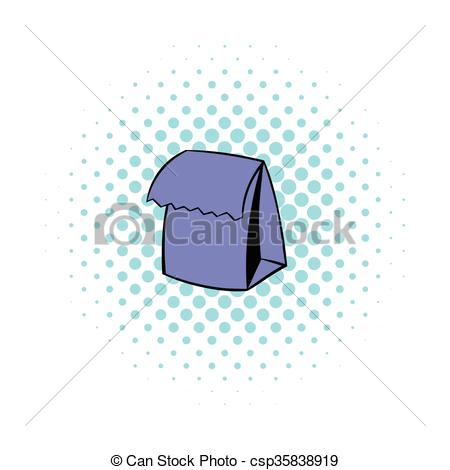 Comics clipart lunch Bag Lunch icon Lunch bag