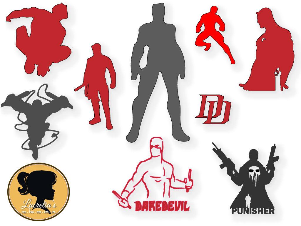 Mutant clipart genetic engineering Daredevil Marvel Marvel SVG clipart
