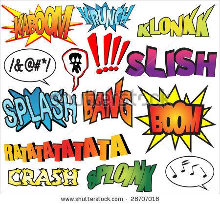 Comics clipart sound Hero hero Effects Sound