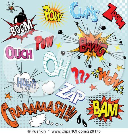Comics clipart sound This 48 comics/sound Pinterest on