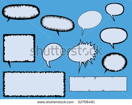 Comics clipart text box And Eleven various by and