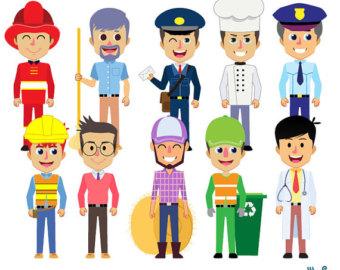 Community clipart cartoon Community Plumber Cartoon helpers digital