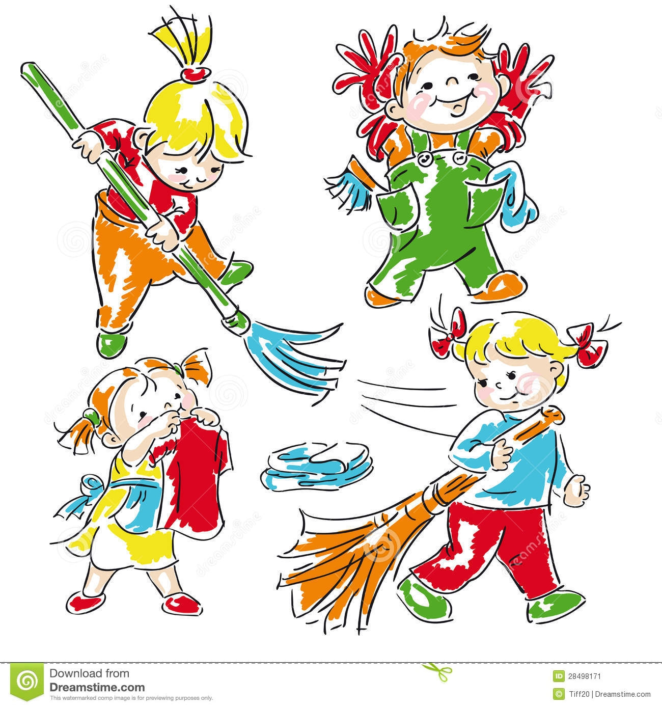 Community clipart clean community Clipart Cleaning The cleaning Children