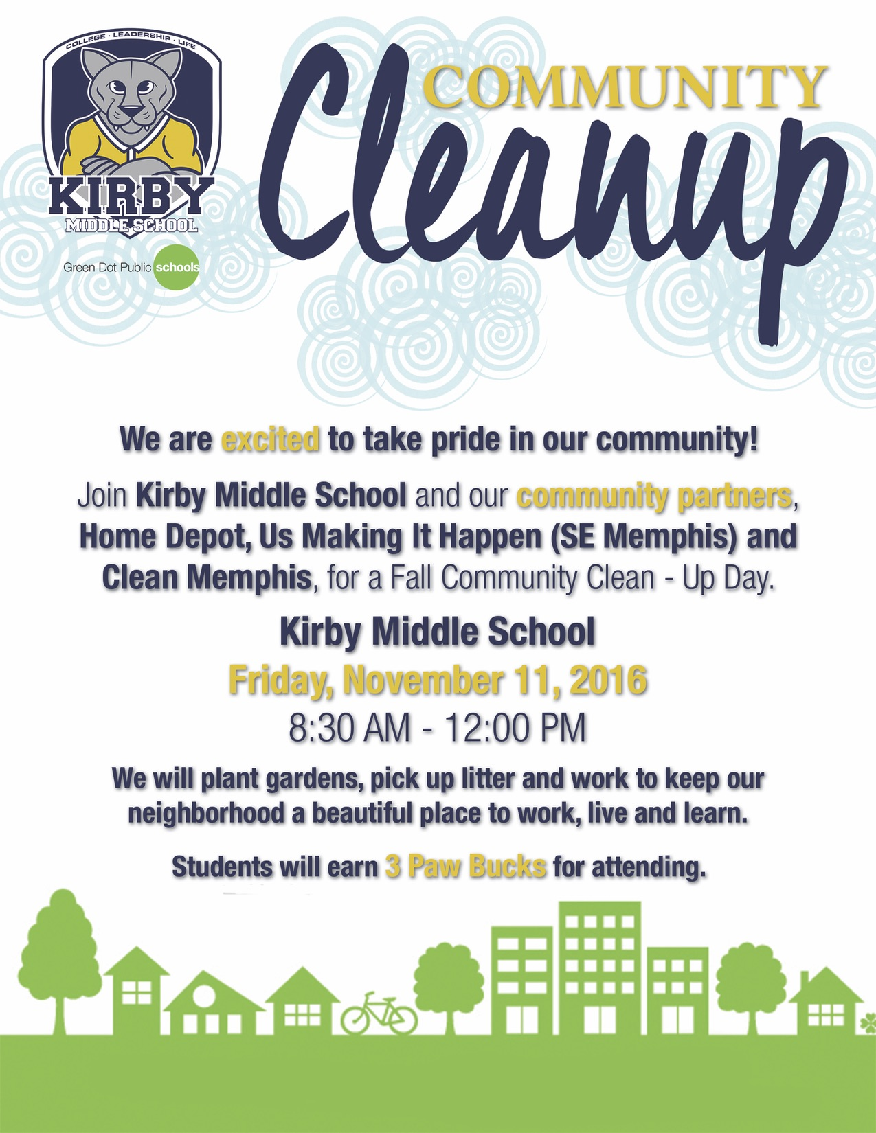 Community clipart clean community Middle excited Day! – Friday