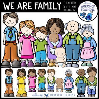 Community clipart diverse family Art 38 Clip We Family