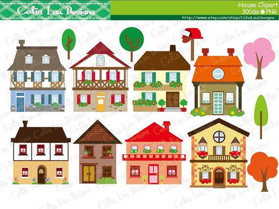 Hosue clipart cute Symbol Teach clipart house house